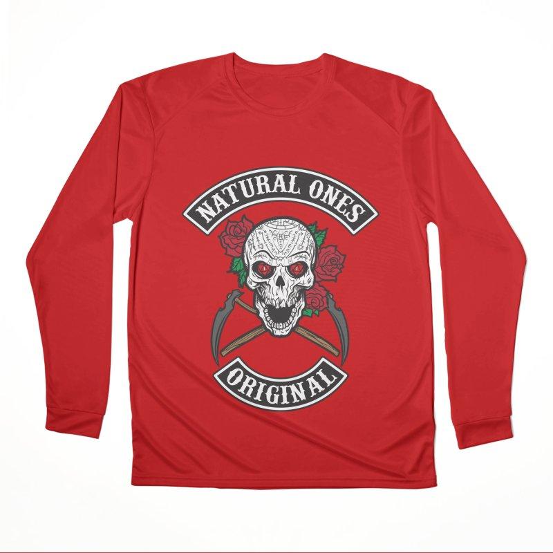Natural Ones Original MC Men's Performance Longsleeve T-Shirt by March1Studios on Threadless