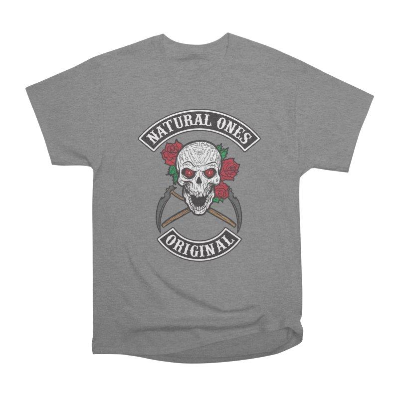 Natural Ones Original MC Men's Heavyweight T-Shirt by March1Studios on Threadless