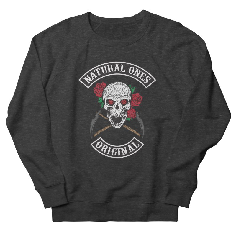 Natural Ones Original MC Men's French Terry Sweatshirt by March1Studios on Threadless