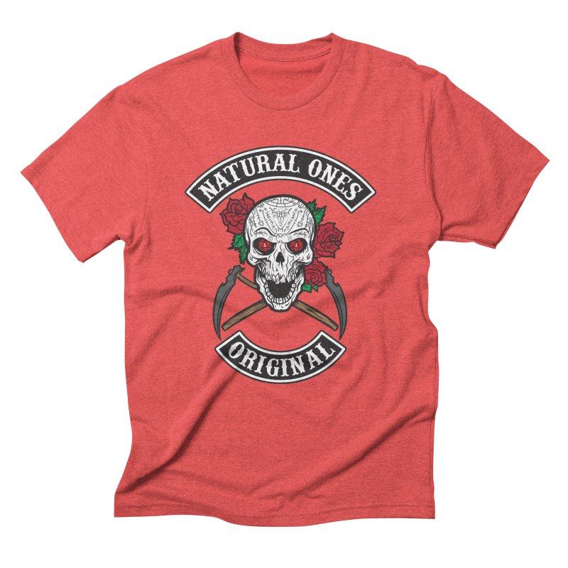 Natural Ones Original MC Men's Triblend T-Shirt by March1Studios on Threadless