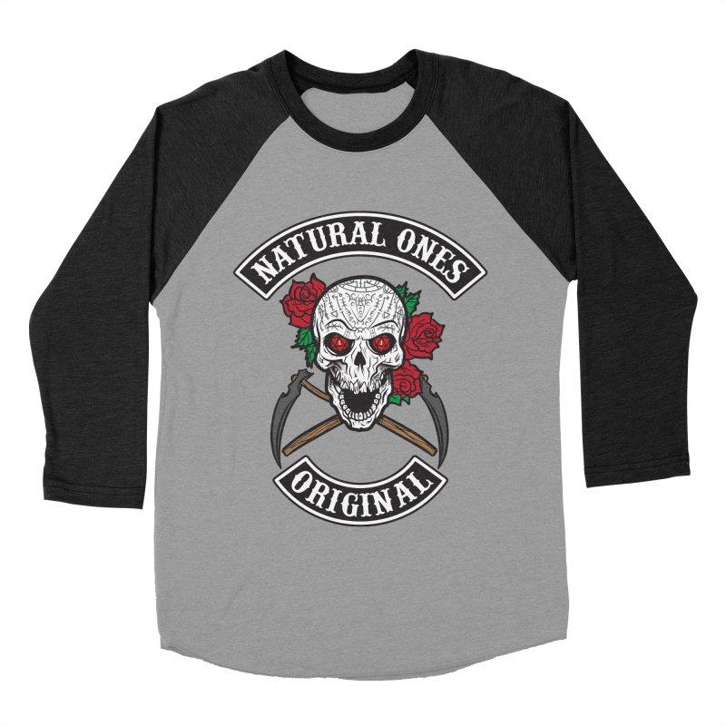 Natural Ones Original MC Men's Baseball Triblend Longsleeve T-Shirt by March1Studios on Threadless