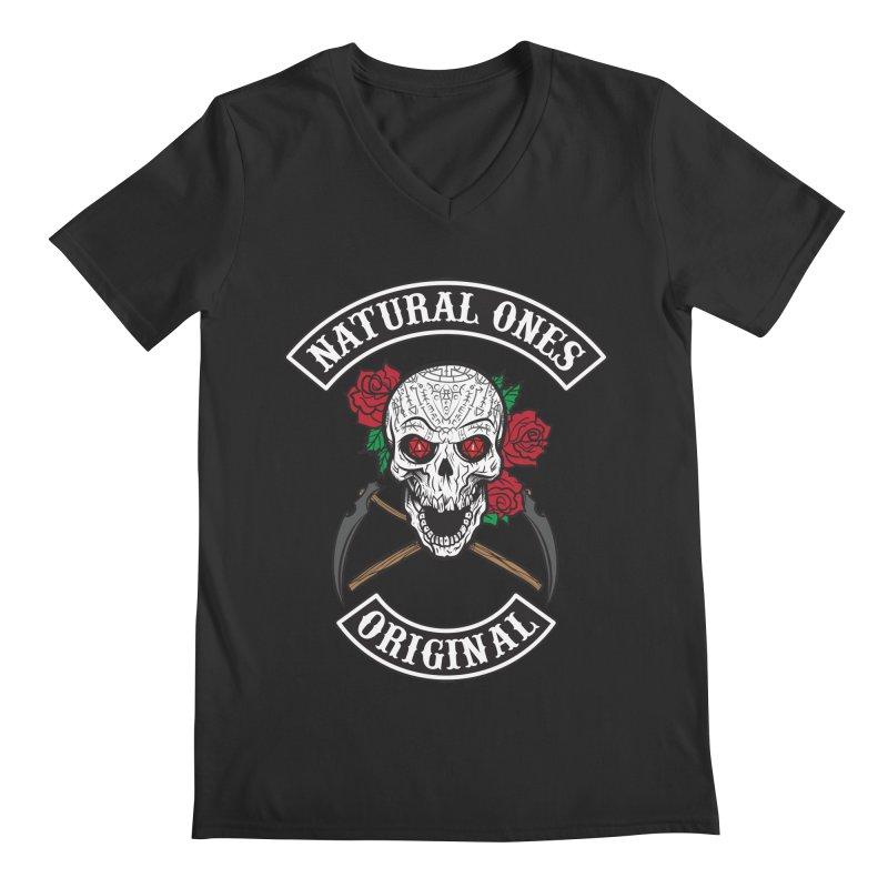Natural Ones Original MC Men's Regular V-Neck by March1Studios on Threadless