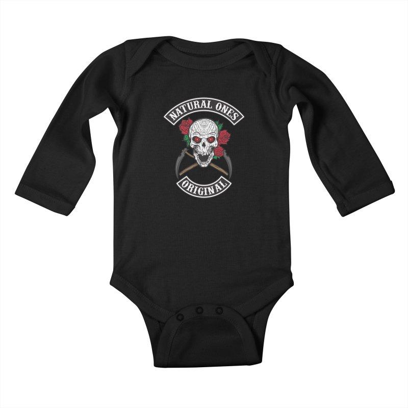 Natural Ones Original MC Kids Baby Longsleeve Bodysuit by March1Studios on Threadless