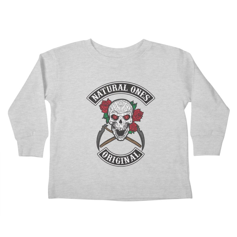Natural Ones Original MC Kids Toddler Longsleeve T-Shirt by March1Studios on Threadless