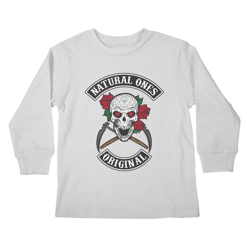 Natural Ones Original MC Kids Longsleeve T-Shirt by March1Studios on Threadless