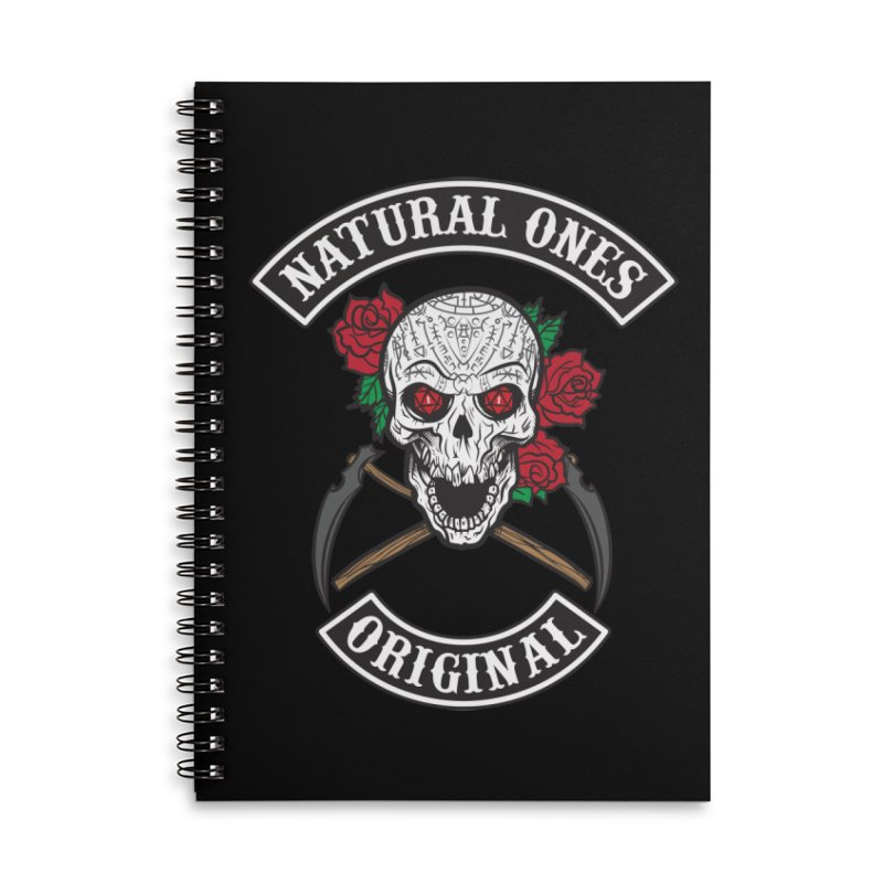 Natural Ones Original MC Accessories Lined Spiral Notebook by March1Studios on Threadless