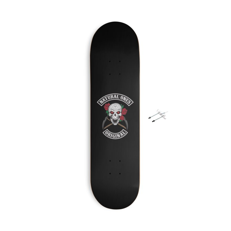 Natural Ones Original MC Accessories With Hanging Hardware Skateboard by March1Studios on Threadless
