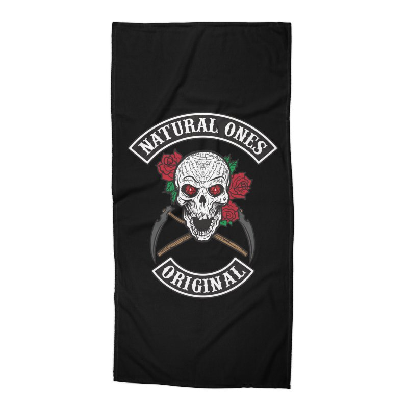 Natural Ones Original MC Accessories Beach Towel by March1Studios on Threadless