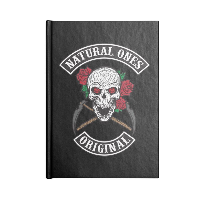 Natural Ones Original MC Accessories Lined Journal Notebook by March1Studios on Threadless