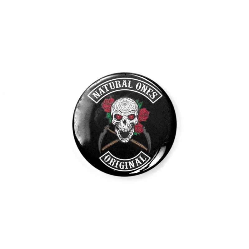 Natural Ones Original MC Accessories Button by March1Studios on Threadless