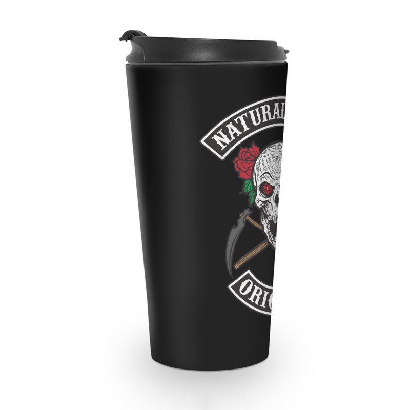 Natural Ones Original MC Accessories Travel Mug by March1Studios on Threadless