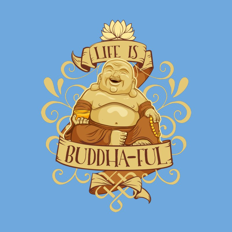 Life is Buddha-ful Accessories Bag by March1Studios on Threadless