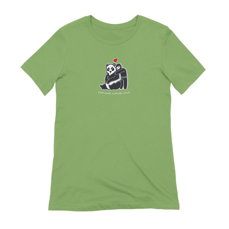 Emotional Support Ninja Women's Extra Soft T-Shirt by March1Studios on Threadless