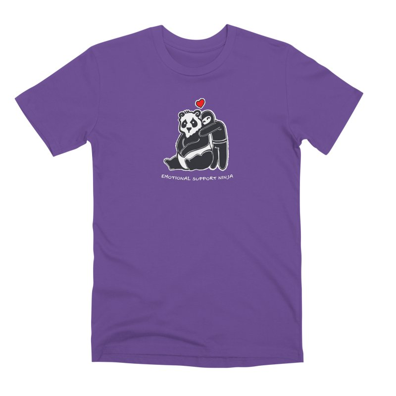 Emotional Support Ninja Men's Premium T-Shirt by March1Studios on Threadless