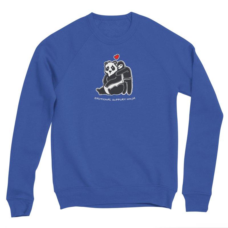 Emotional Support Ninja Men's Sponge Fleece Sweatshirt by March1Studios on Threadless