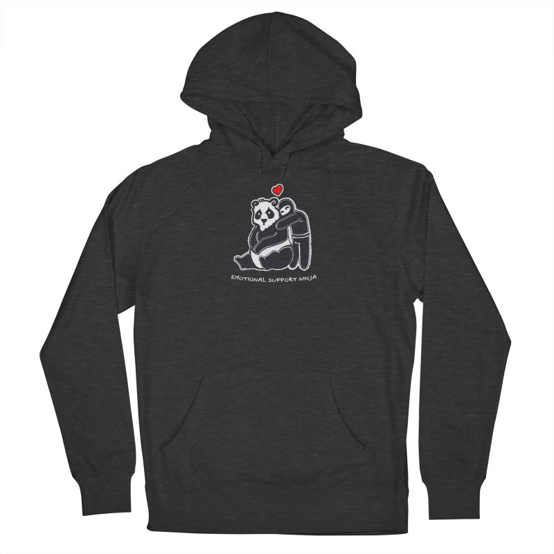 Emotional Support Ninja Men's French Terry Pullover Hoody by March1Studios on Threadless