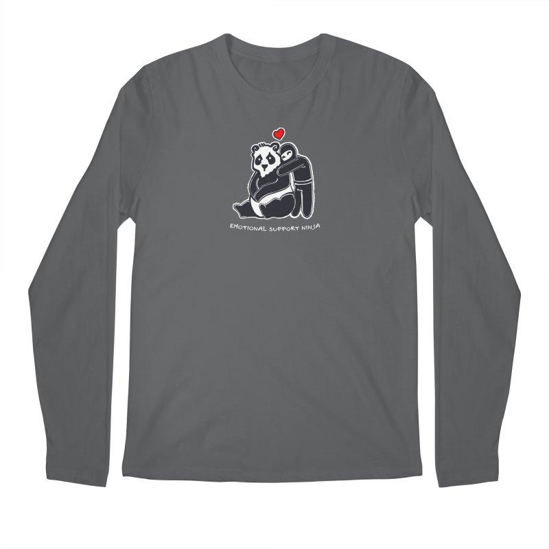 Emotional Support Ninja Men's Regular Longsleeve T-Shirt by March1Studios on Threadless