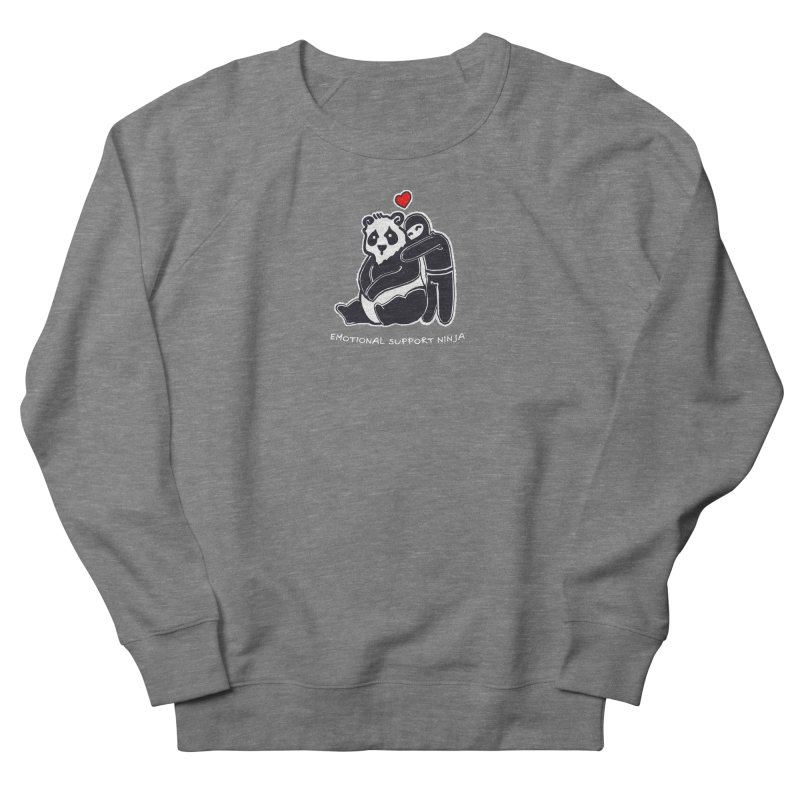 Emotional Support Ninja Women's French Terry Sweatshirt by March1Studios on Threadless