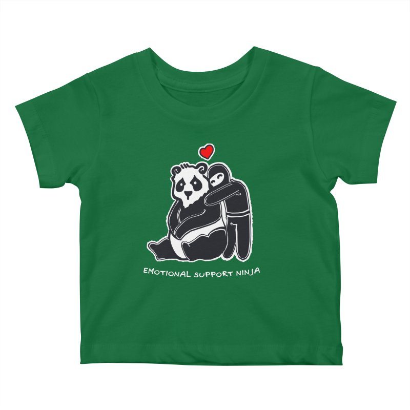 Emotional Support Ninja Kids Baby T-Shirt by March1Studios on Threadless