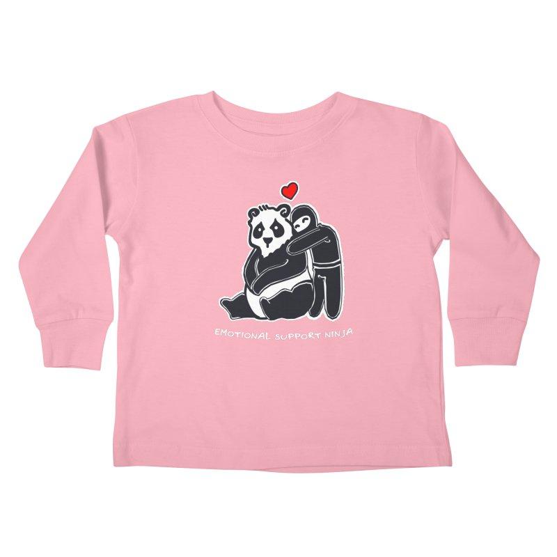 Emotional Support Ninja Kids Toddler Longsleeve T-Shirt by March1Studios on Threadless
