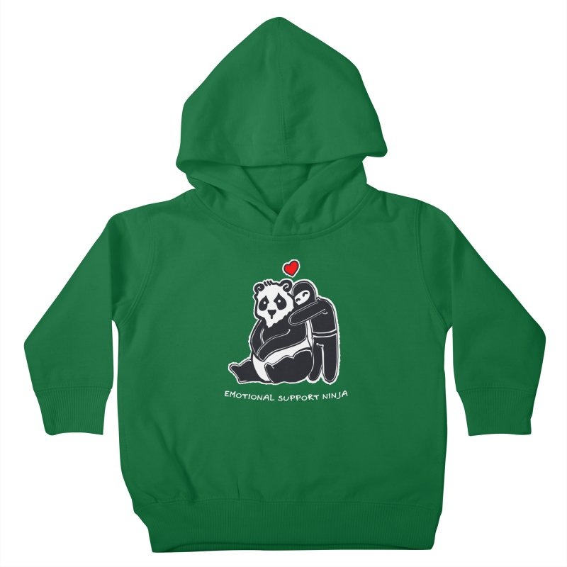 Emotional Support Ninja Kids Toddler Pullover Hoody by March1Studios on Threadless