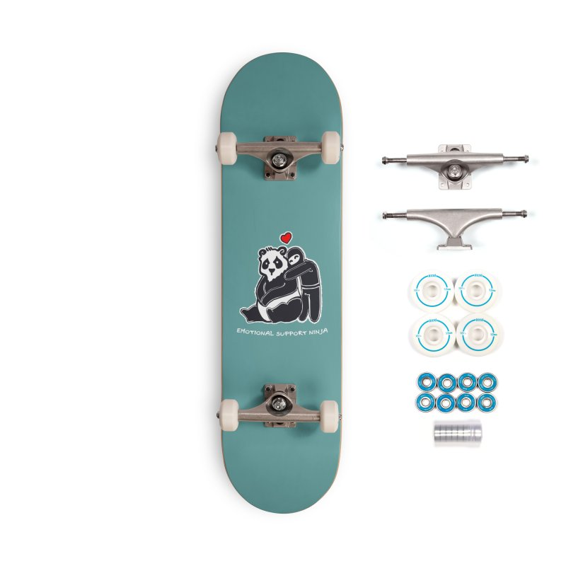 Emotional Support Ninja Accessories Complete - Basic Skateboard by March1Studios on Threadless