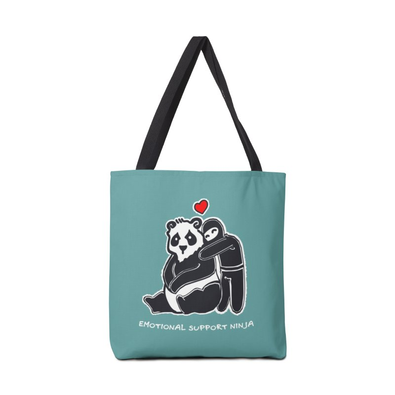 Emotional Support Ninja Accessories Tote Bag Bag by March1Studios on Threadless