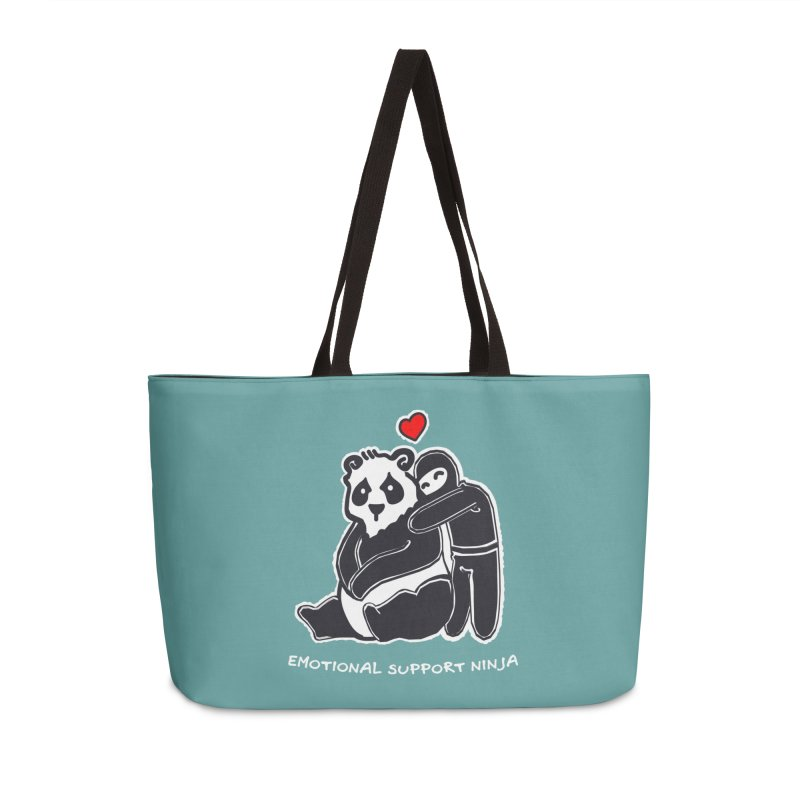 Emotional Support Ninja Accessories Bag by March1Studios on Threadless