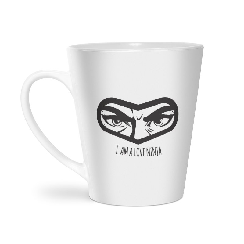 I am a Love Ninja Accessories Latte Mug by March1Studios on Threadless