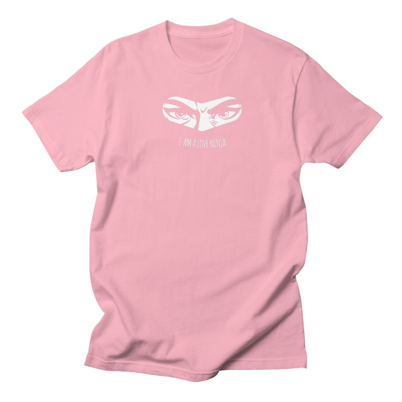 I am a Love Ninja Men's T-Shirt by March1Studios on Threadless