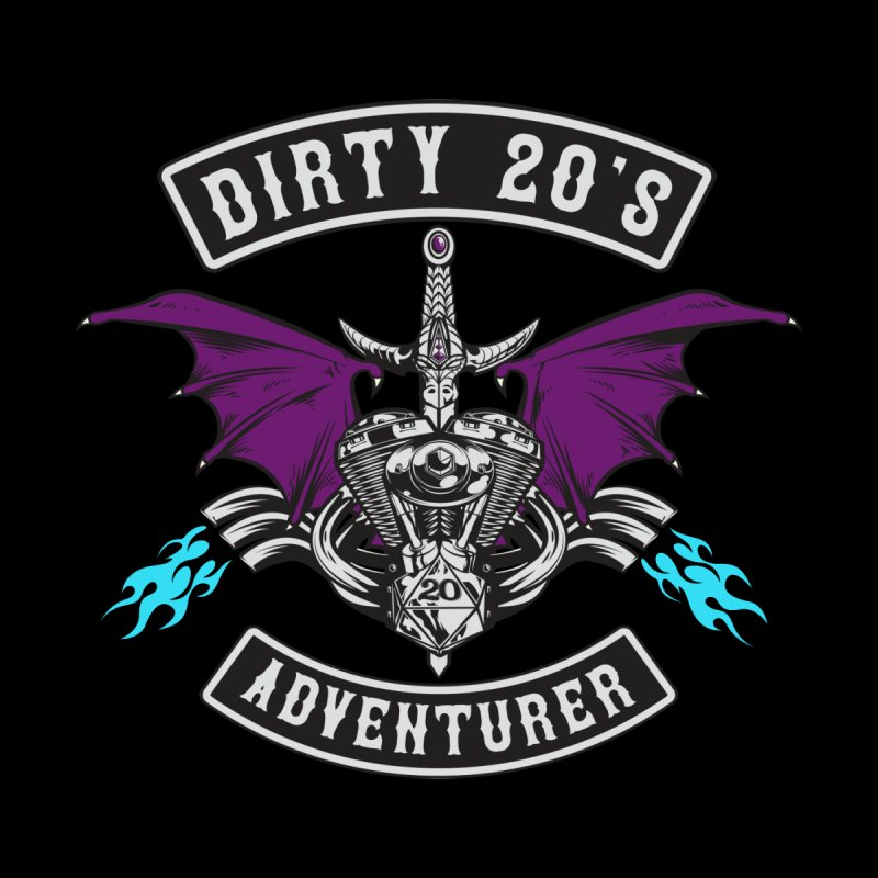 The Dirty Twenties Motorcycle Club Patch Design Men's T-Shirt by March1Studios on Threadless