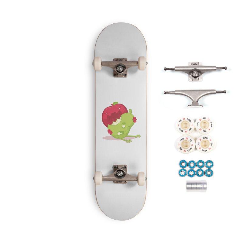 Pomme De Terror (Apple of Terror) Accessories Skateboard by March1Studios on Threadless