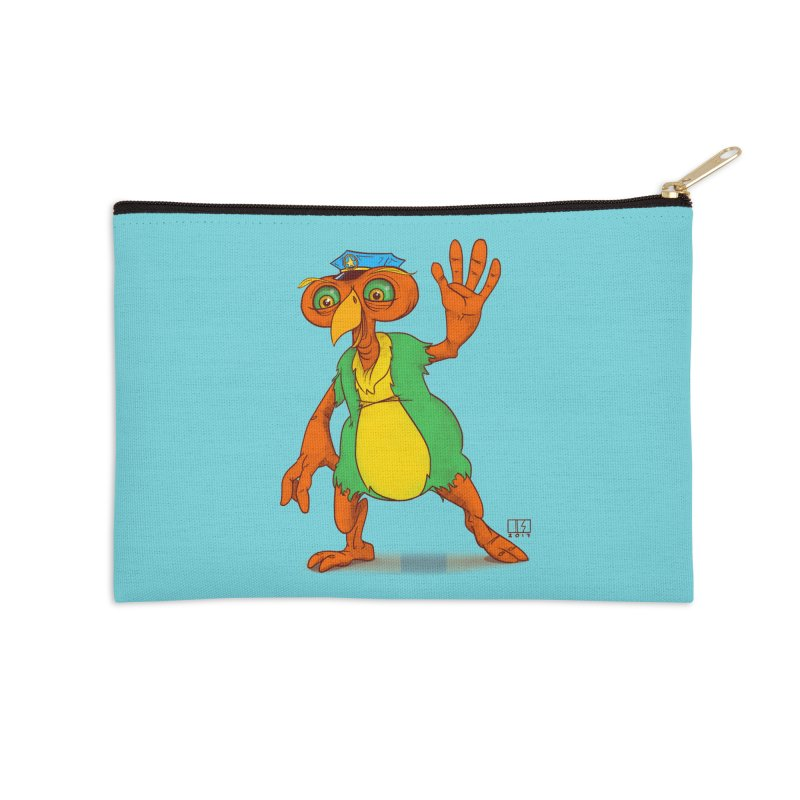 Lane Accessories Zip Pouch by march1studios's Artist Shop
