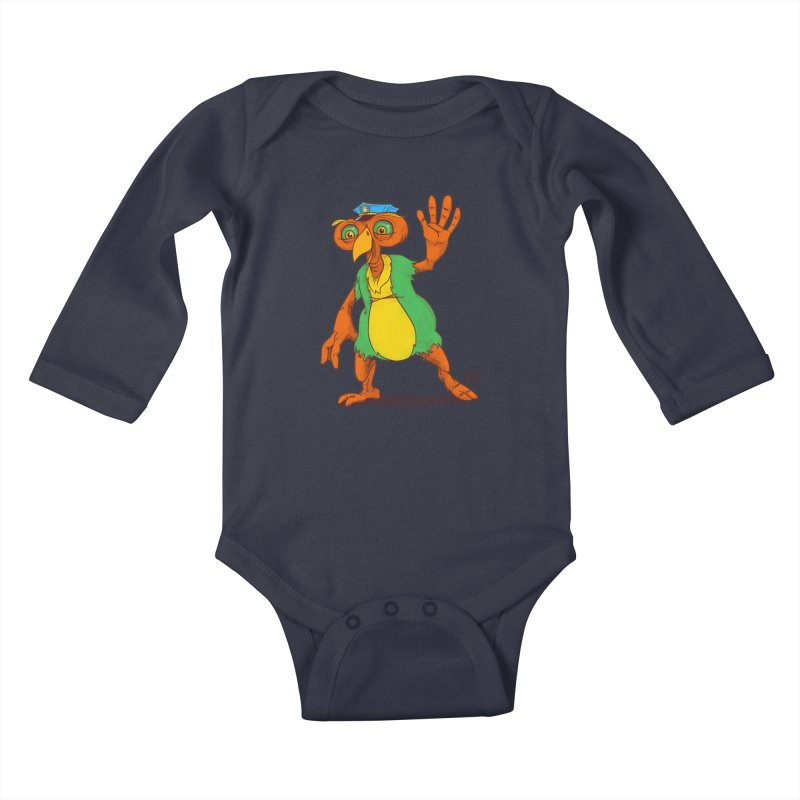 Lane Kids Baby Longsleeve Bodysuit by march1studios's Artist Shop