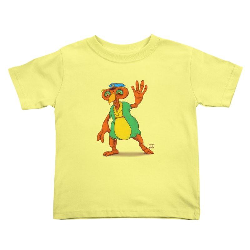 Lane Kids Toddler T-Shirt by march1studios's Artist Shop