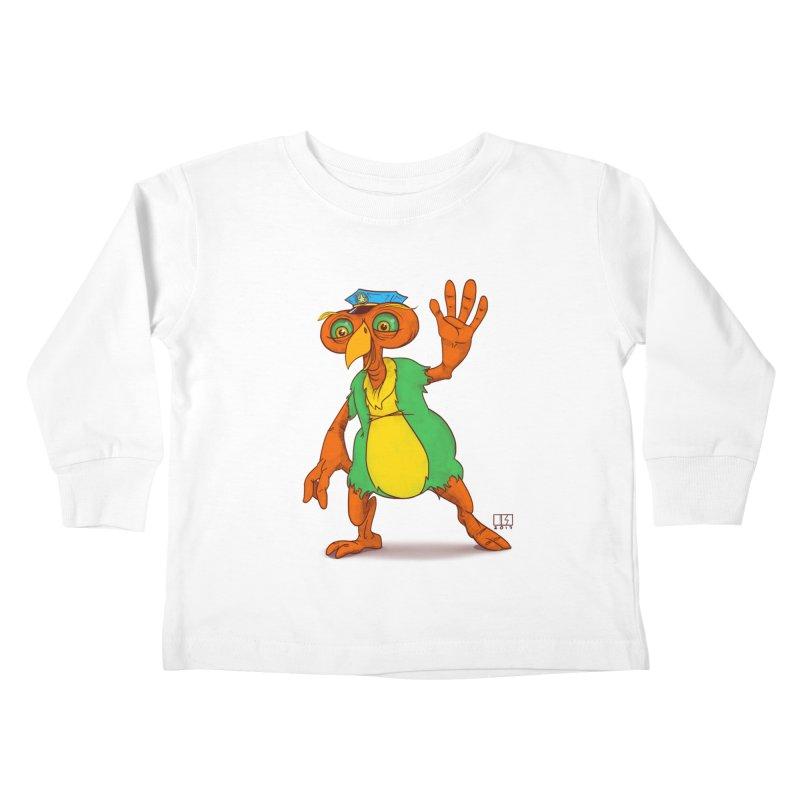 Lane Kids Toddler Longsleeve T-Shirt by march1studios's Artist Shop