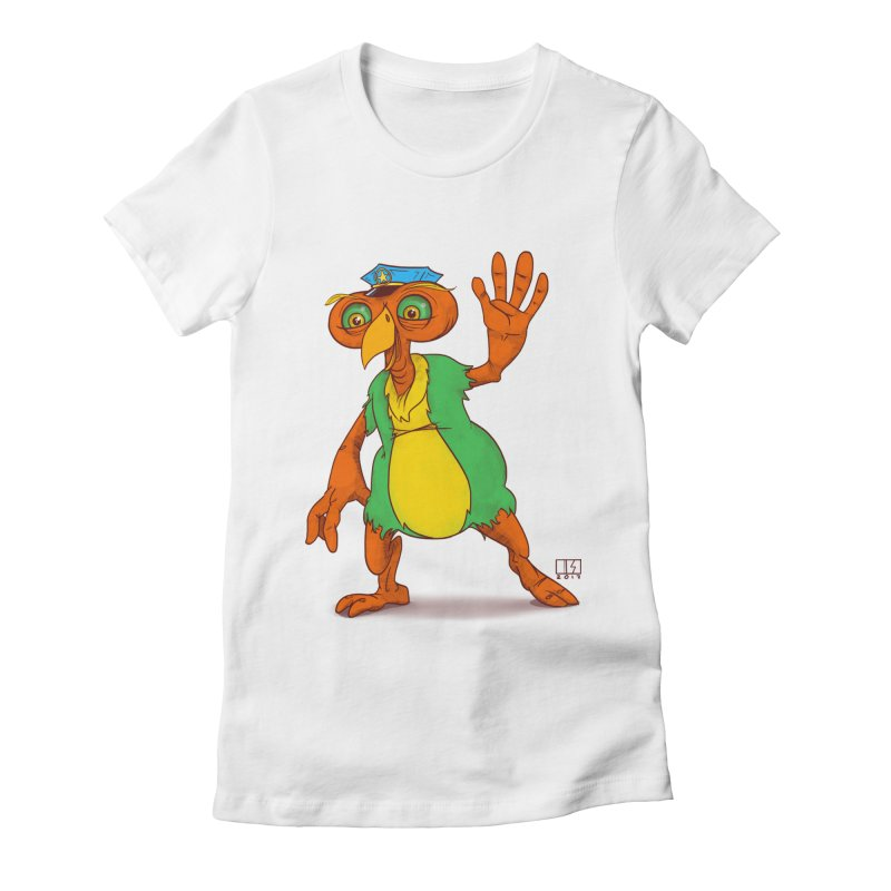 Lane Women's Fitted T-Shirt by march1studios's Artist Shop