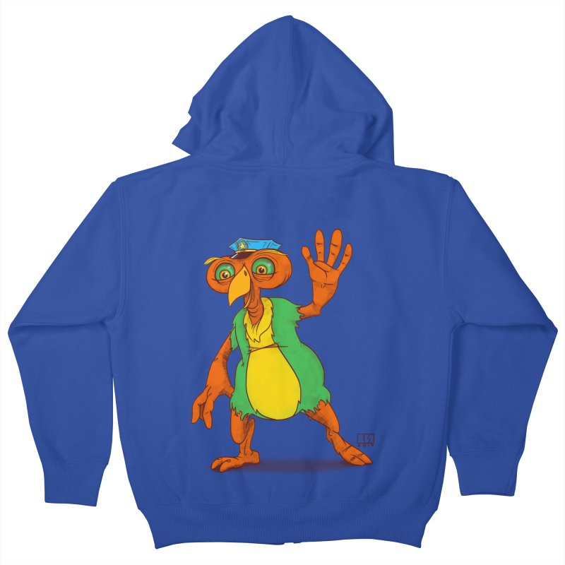 Lane Kids Zip-Up Hoody by march1studios's Artist Shop