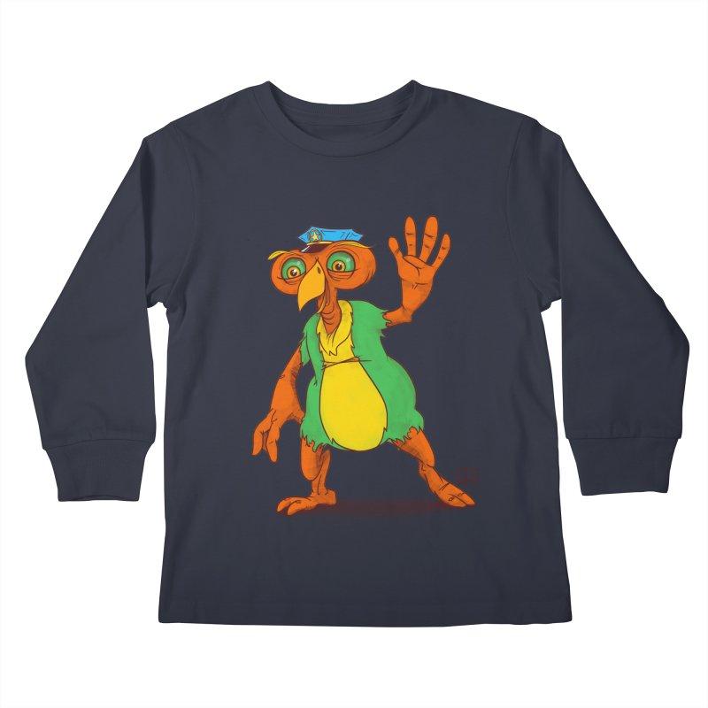 Lane Kids Longsleeve T-Shirt by march1studios's Artist Shop