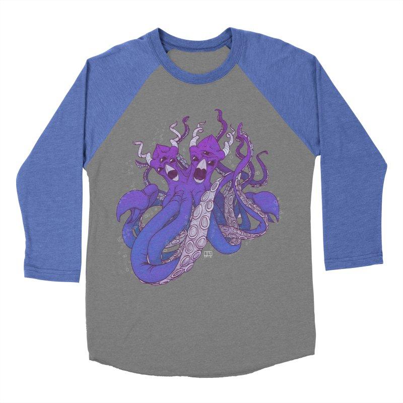 The Octogorgon Women's Baseball Triblend T-Shirt by march1studios's Artist Shop