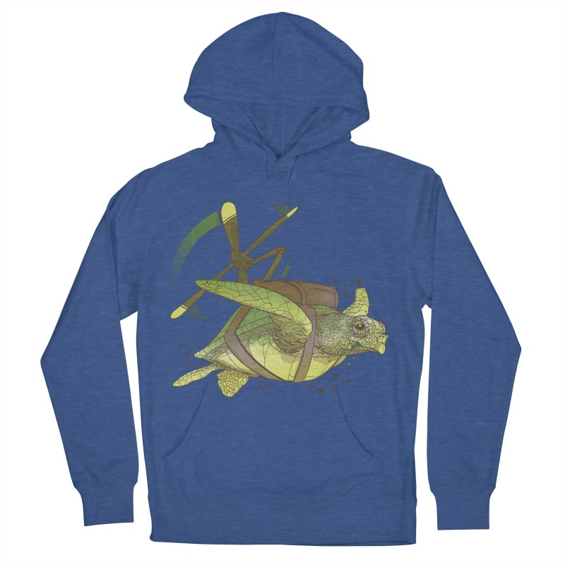 Fred the Giant Flying Laser-Eyed Turtle Women's Pullover Hoody by march1studios's Artist Shop