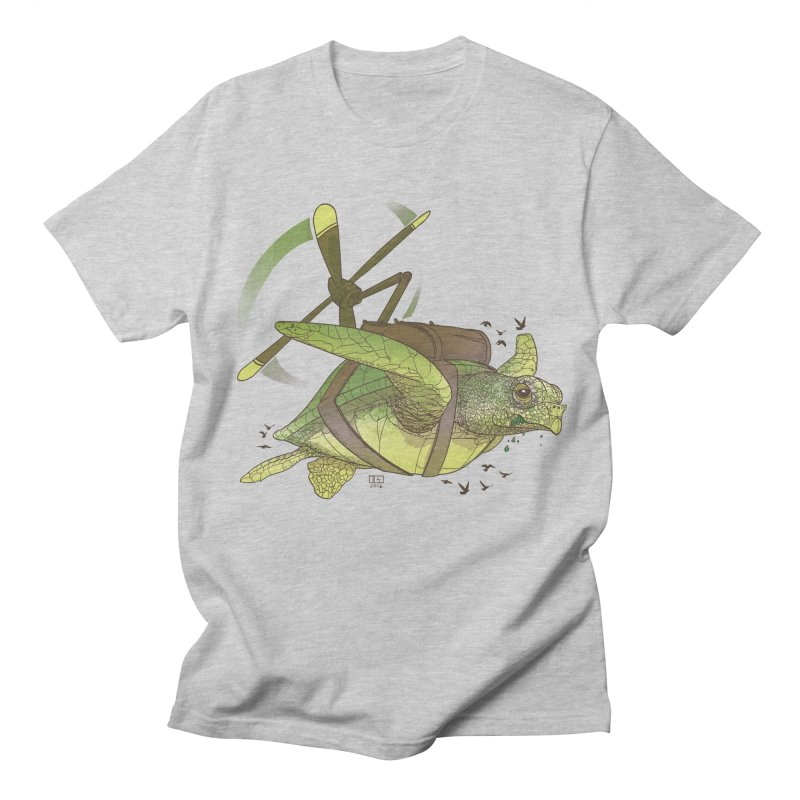 Fred the Giant Flying Laser-Eyed Turtle Women's Unisex T-Shirt by march1studios's Artist Shop