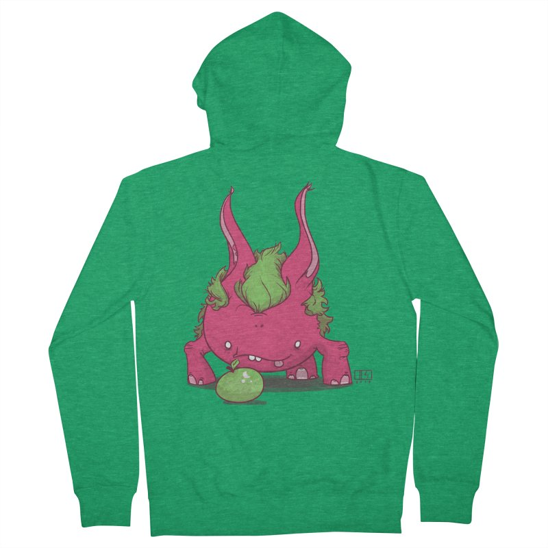 The Jenna Monster Men's French Terry Zip-Up Hoody by march1studios's Artist Shop