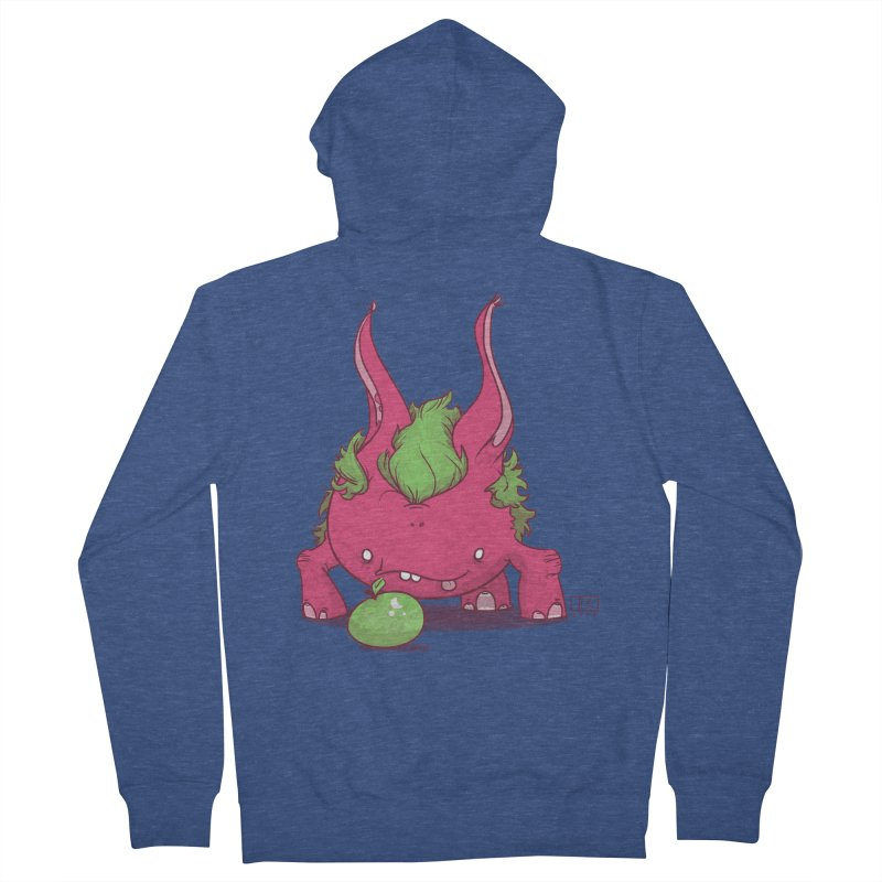 The Jenna Monster Men's French Terry Zip-Up Hoody by March1Studios on Threadless