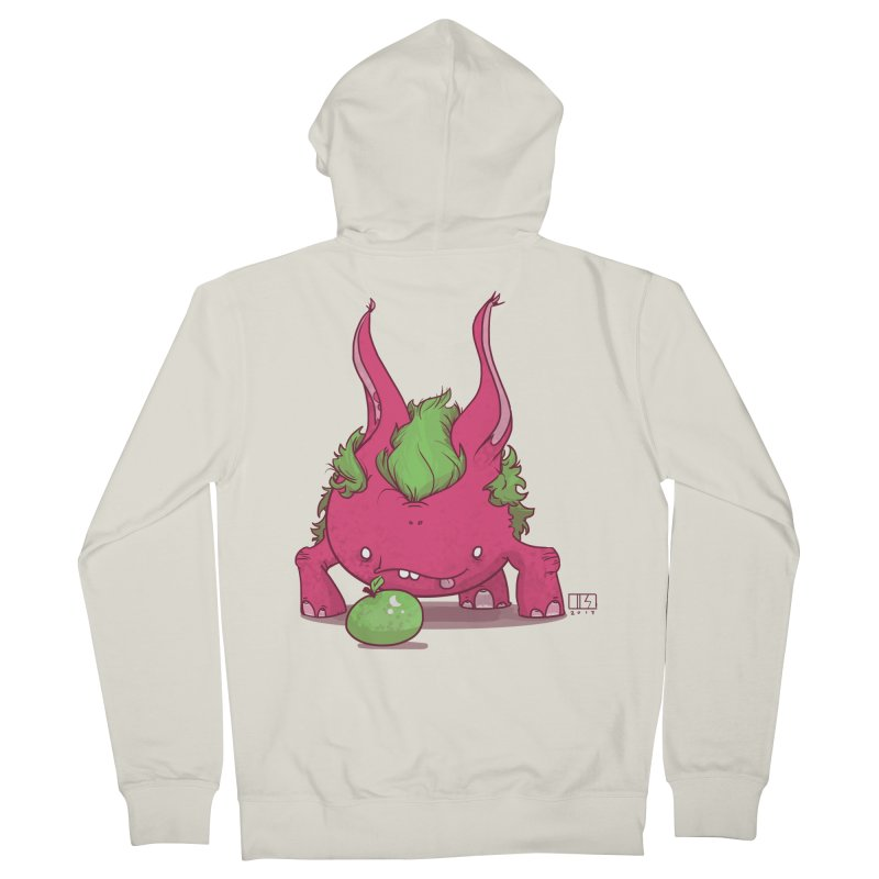 The Jenna Monster Men's Zip-Up Hoody by march1studios's Artist Shop