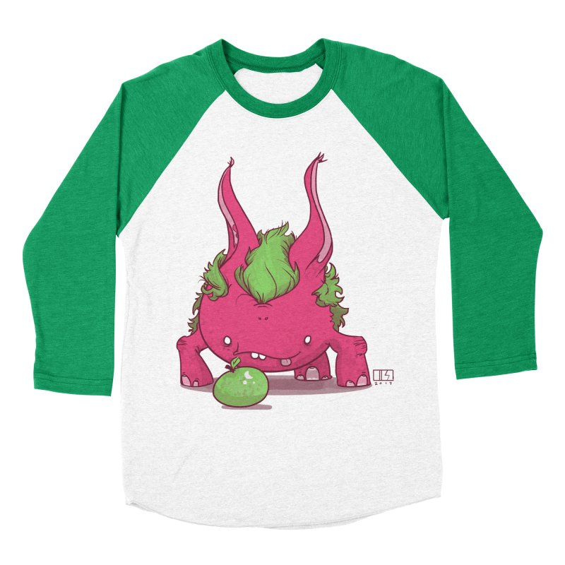 The Jenna Monster Men's Baseball Triblend Longsleeve T-Shirt by march1studios's Artist Shop