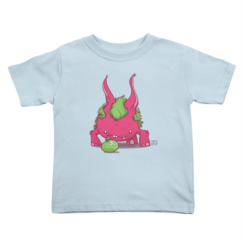 The Jenna Monster Kids Toddler T-Shirt by march1studios's Artist Shop