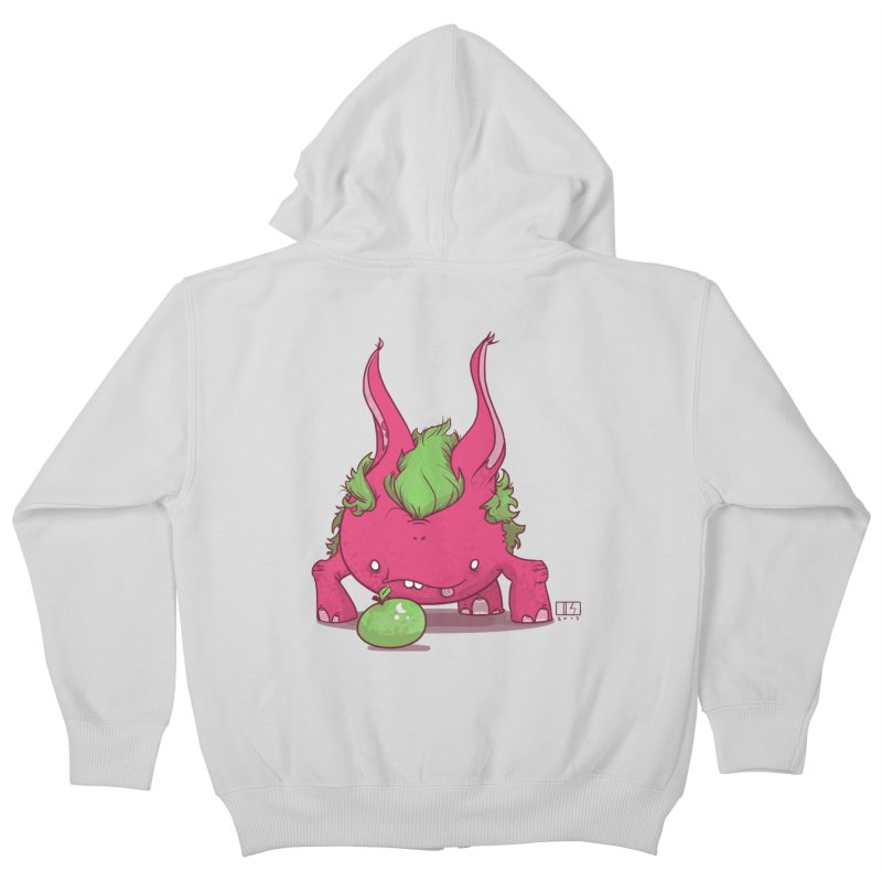 The Jenna Monster Kids Zip-Up Hoody by march1studios's Artist Shop