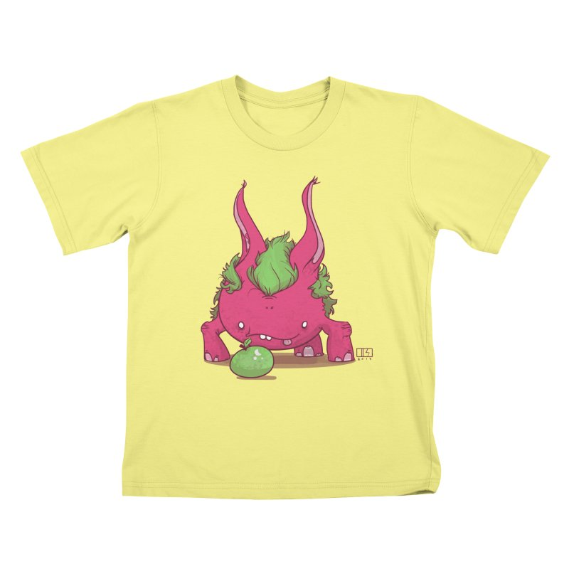 The Jenna Monster Kids T-shirt by march1studios's Artist Shop