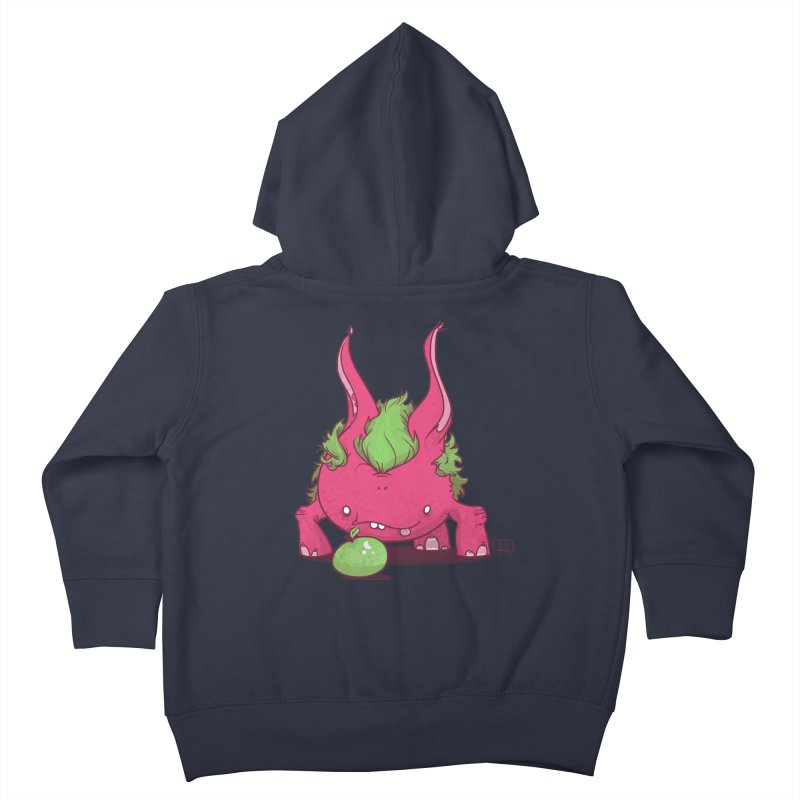 The Jenna Monster Kids Toddler Zip-Up Hoody by march1studios's Artist Shop
